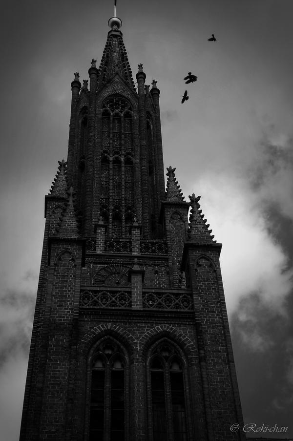 Cursed tower by dEVILoFThegROTESQUE