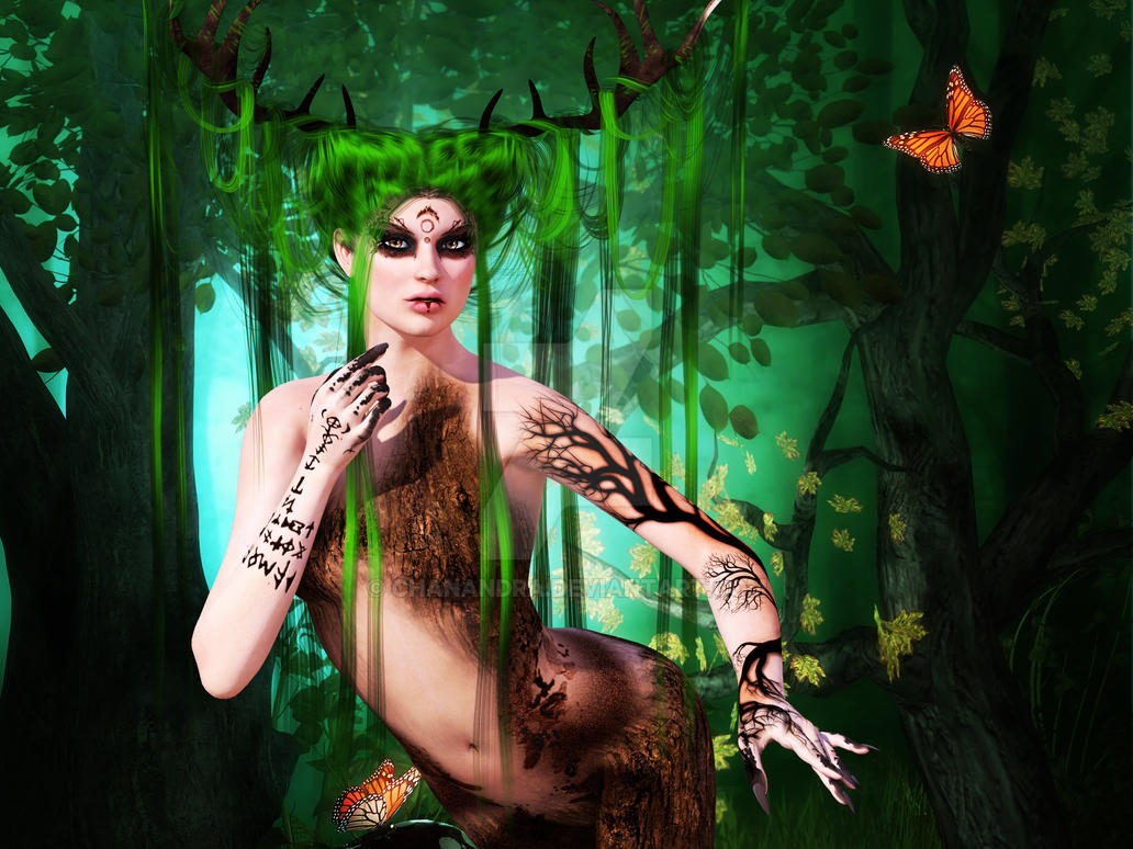 Forest Guardian by chanandra