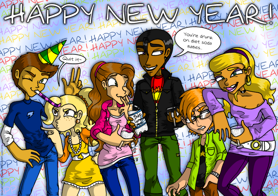 Happy new yearness by Pinkaila