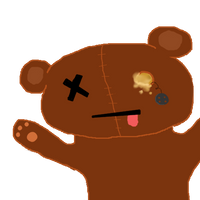 free dead teddy bear icon by candydesufox
