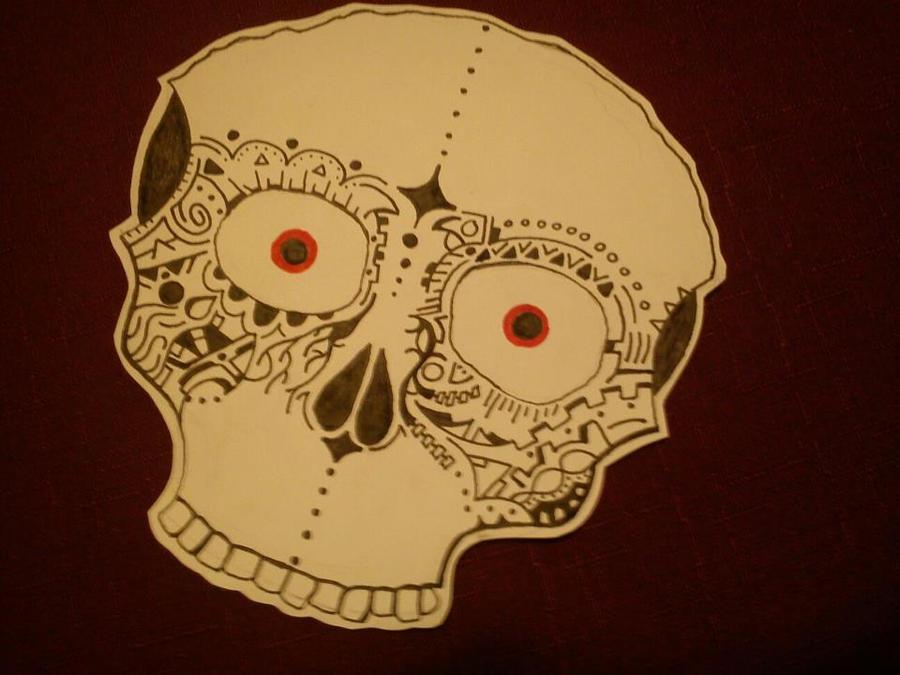 sugar skull by Jmorr16
