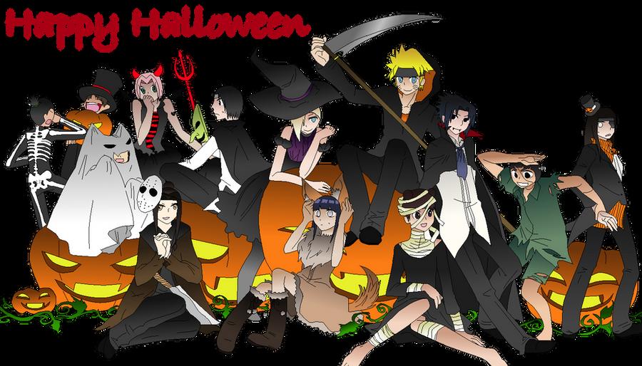Naruto Halloween a naruto halloween by