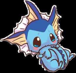 Cute vaporeon by fakeevee