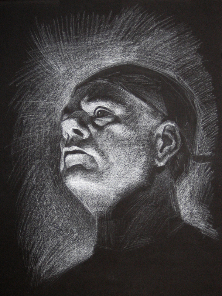 Black And White Pencil Drawing Pictures White Pencil Black Paper 3