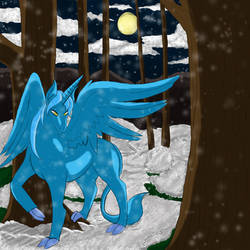 Midnight Snowfall by Heartbeat420