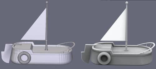 TAW boat wip by 777eza
