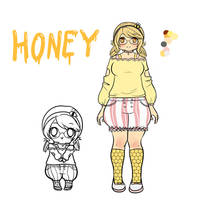 New OC Honey by AdversusNovo