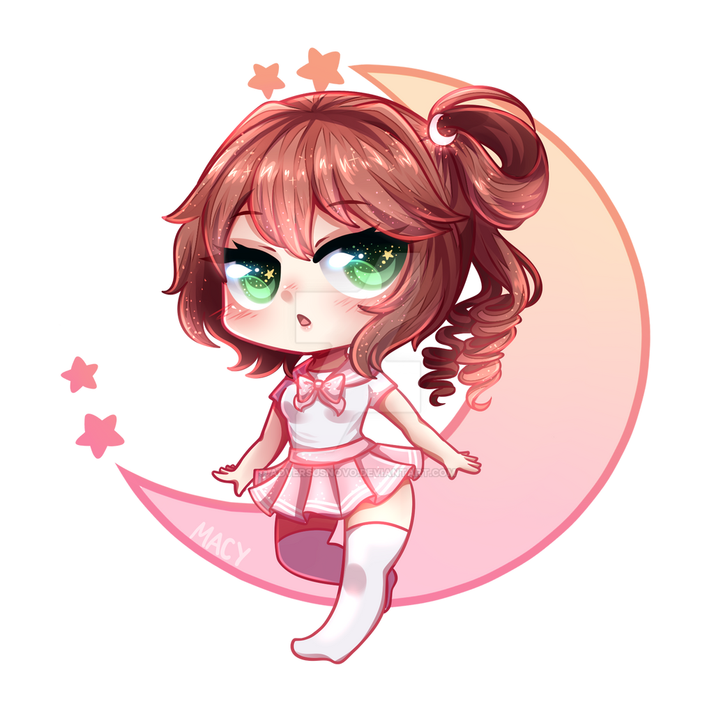 Commission Chibi Girl By Adversusnovo On Deviantart