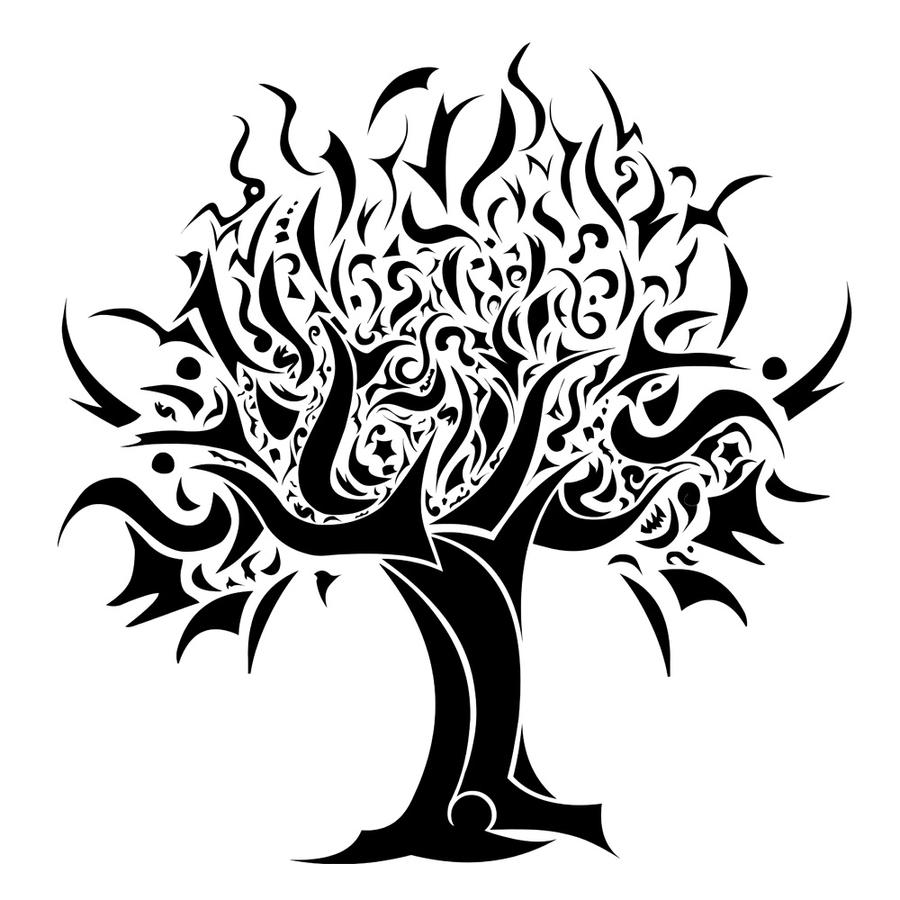 Tribal Tree Of Life: 1000+ Images About Tattoo Ideas On Pinterest