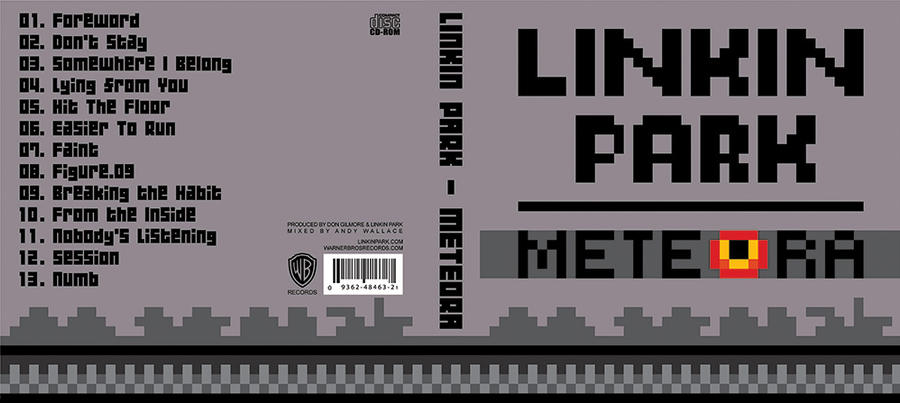 Linkin Park - Album Cover by cemelci on DeviantArt