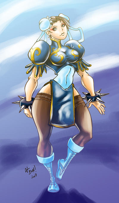The Kikoushou Chun Li by Magmard