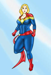 captainMarvel by 101issues