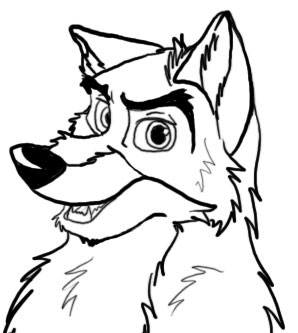 balto coloring pages online - photo#26