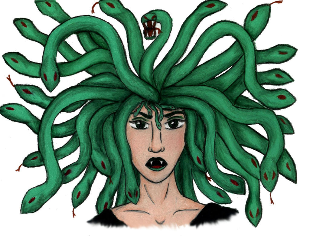 Medusa by PhoenixWildfire