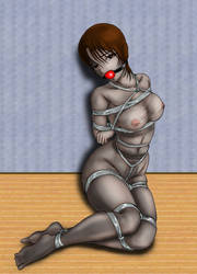 Pantyhose bondage by amiba00