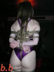 Real Swimsuit bondage by amiba00