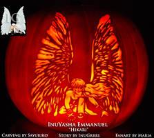 InuYasha Emmanuel Pumpkin by InuGrrrl