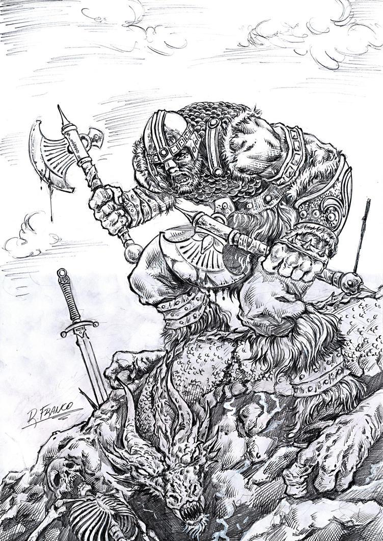 Matador de Dragoes by ricardoafranco