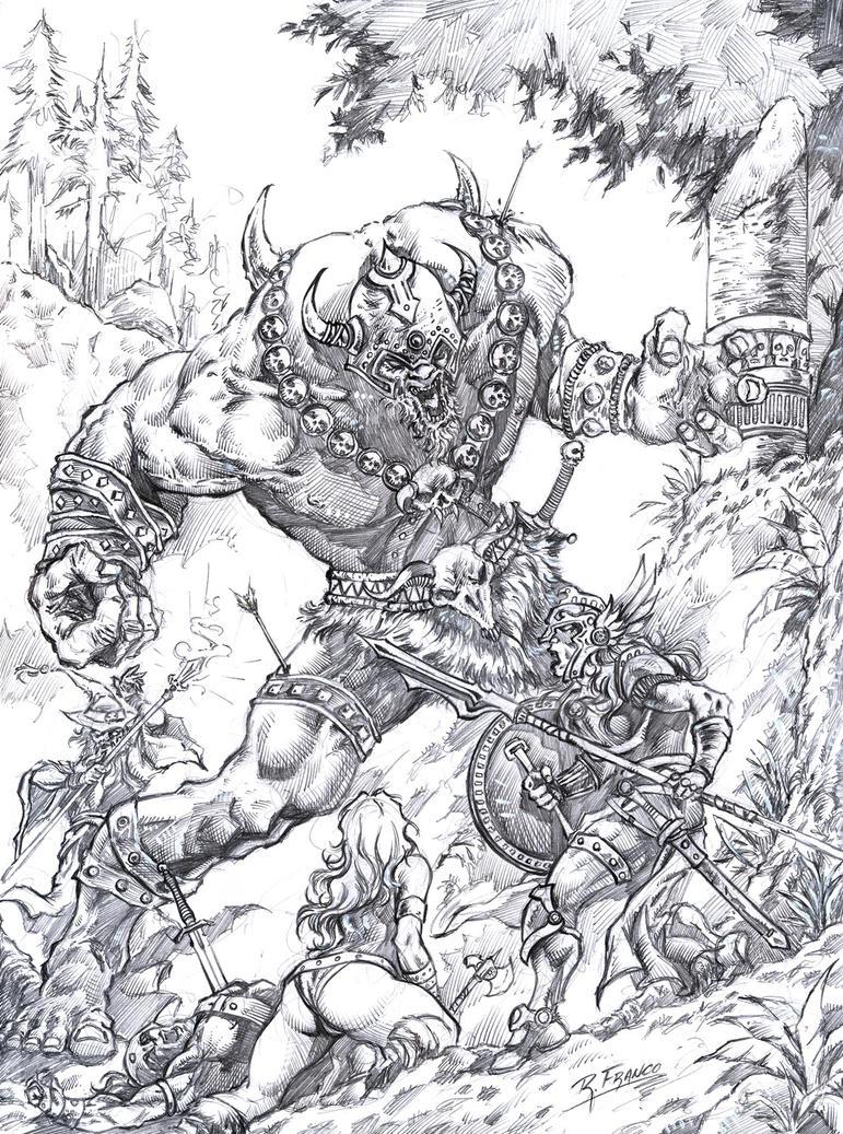 Batalha na Floresta by ricardoafranco