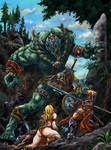 Batalha na Floresta _ color