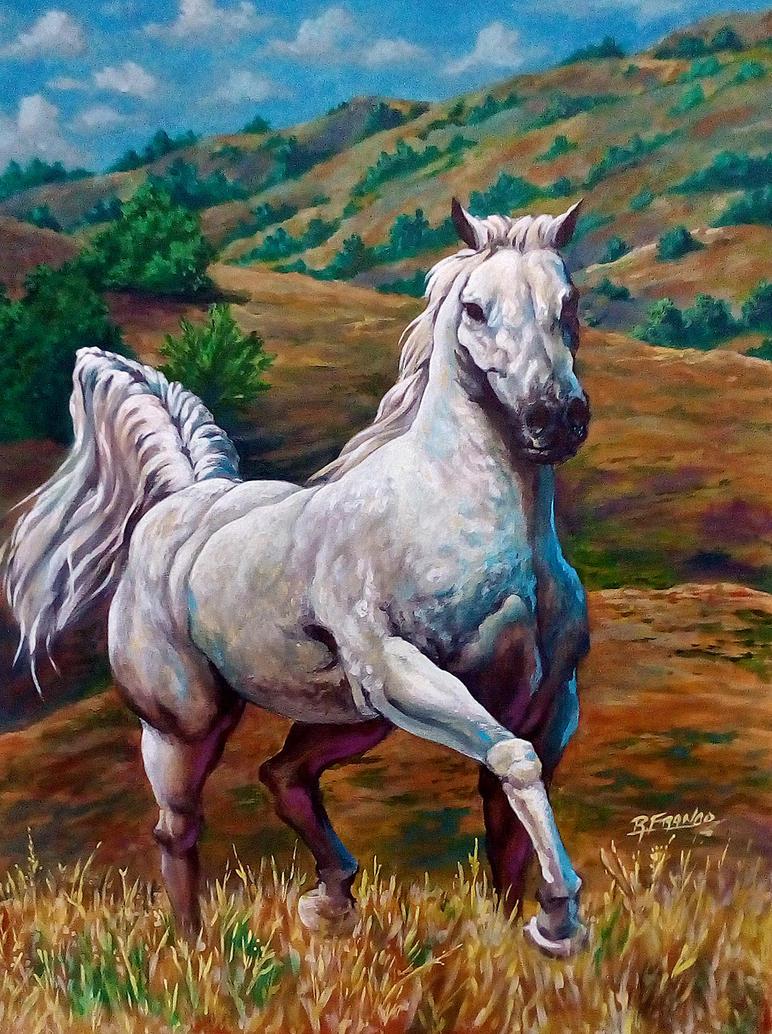 09 - Cavalo 80x60 by ricardoafranco