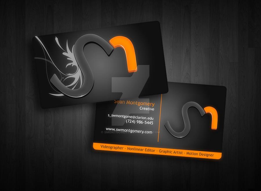 SM Designs - Business Card by smontgomery on DeviantArt