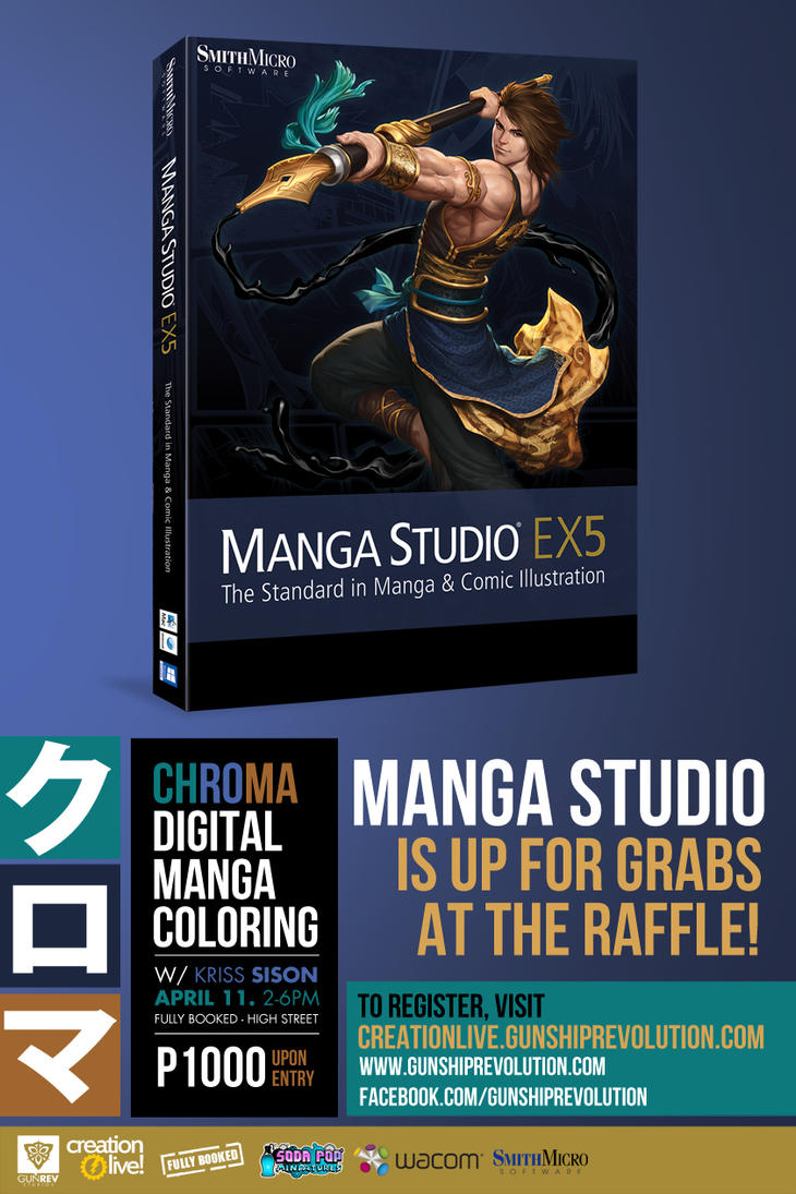 Manga Studio at Chroma by isangkutsarangmoe