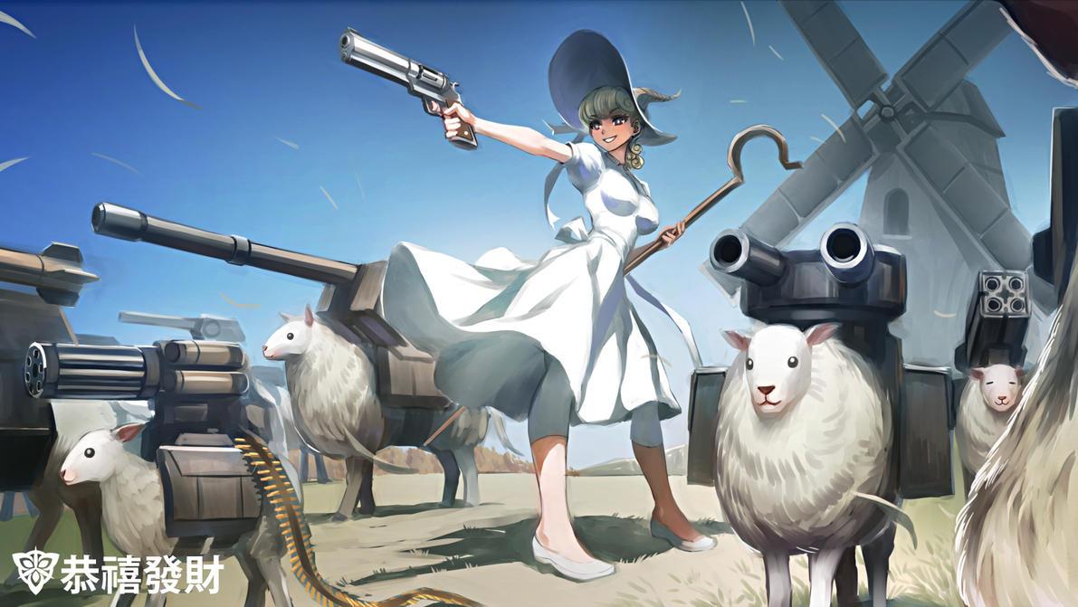 Gun Sheep Salute the New Year! by isangkutsarangmoe