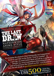 The Last Draw: Anime-Style Art Competition