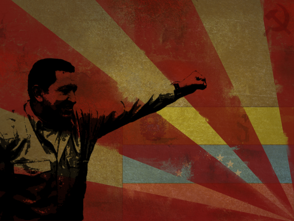 Viva Chavez by Fonta84