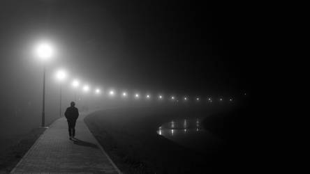 foggy walk.. by housel1984