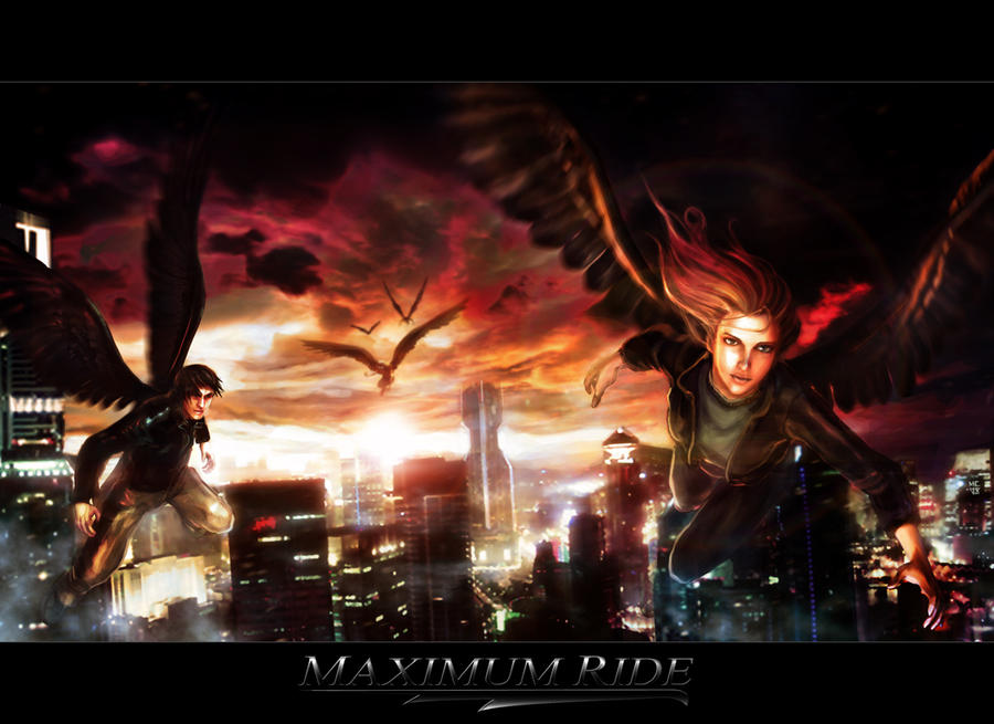 Book Projects: Maximum Ride Press Poster Concept