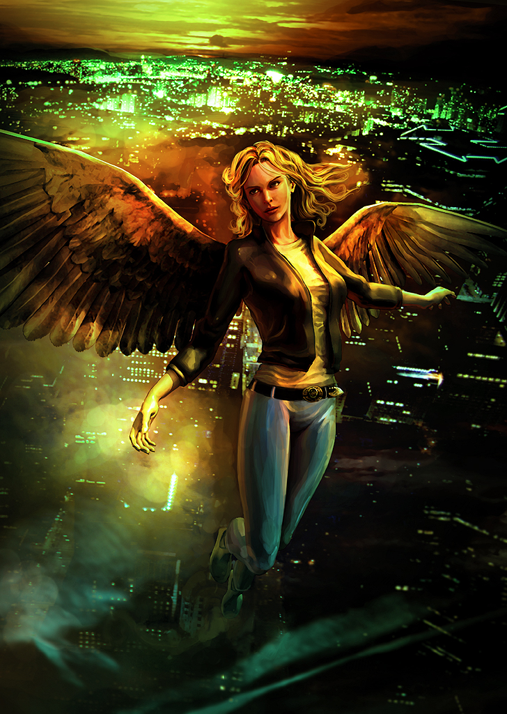 Book Projects: Maximum Ride Press Poster Concept 2