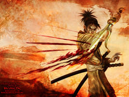 Manji - Blade of the Immortal by sundang