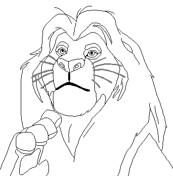 Musafa Rugiendo likewise Mufasa Coloring Pages likewise Dibujos Para Colorear moreover Mufasa Line Art 321921598 also The Lion King. on lion king nala and sarabi
