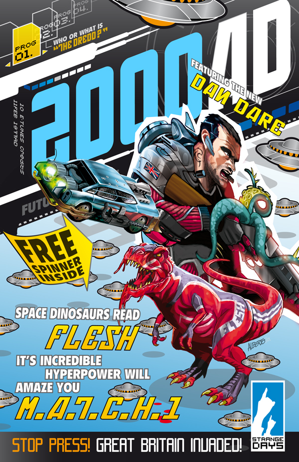 2000AD Cover Remake