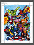 Secret Wars Sketchcard Puzzle