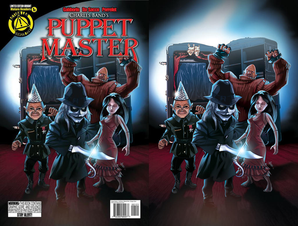 Puppet Master #1 Variant by PencilInPain