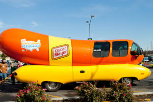 Wienermobile YAY by ShawnHenry