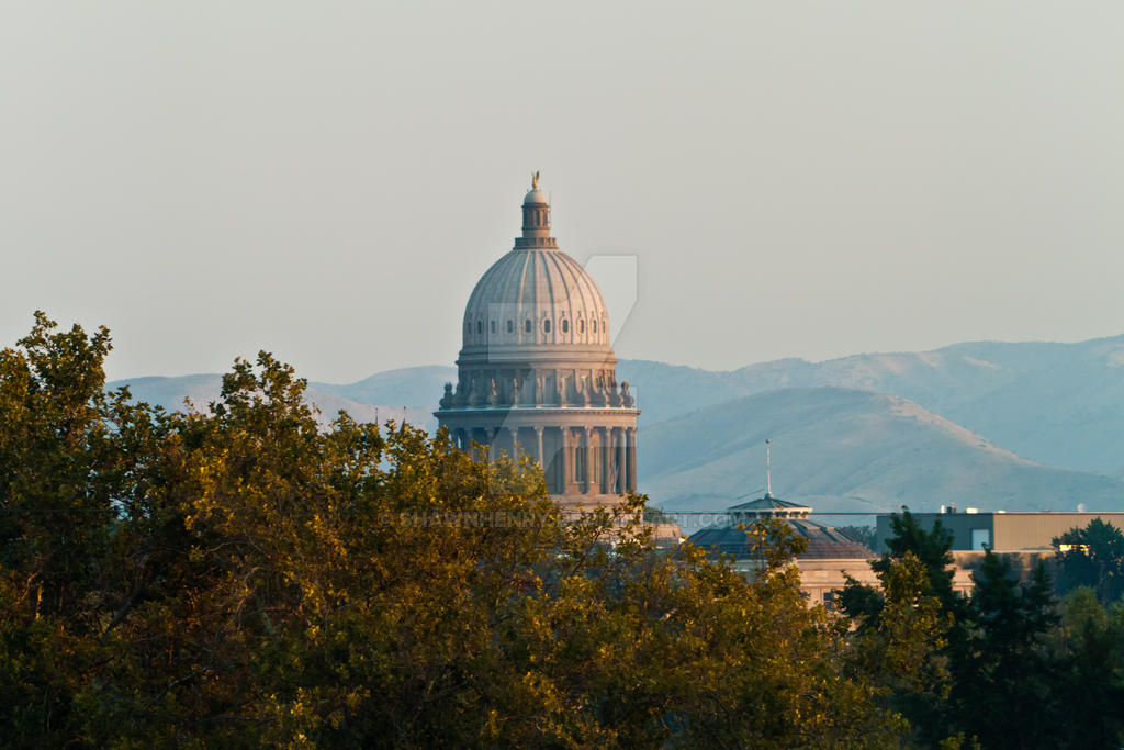 The Capitol Building by ShawnHenry
