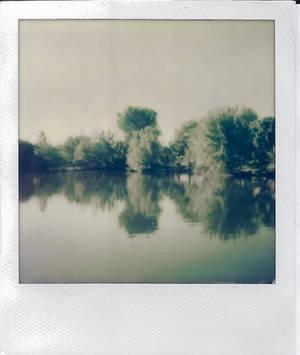 Julia Davis Pond SX70 by ShawnHenry