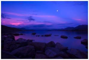 Twilight Lake by bethwaukee