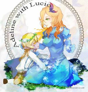 Adeline with Lucio