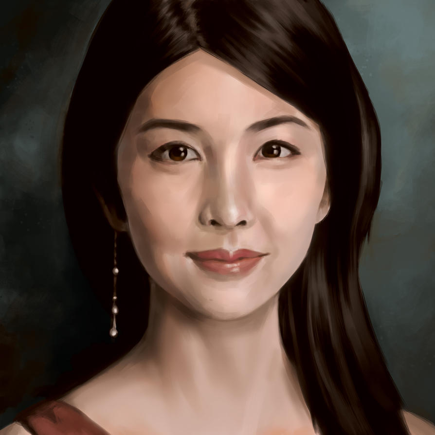 Tsubaki Portrait by KeeyanMe