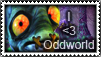 Abe Oddworld Stamp by Klaien
