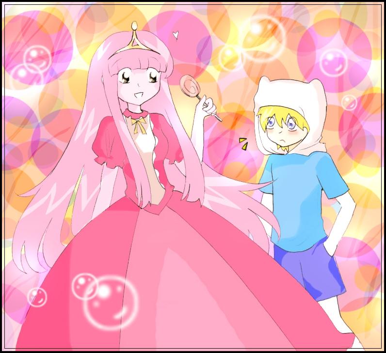 Princess Bubblegum and Finn by LiyiBezarius on DeviantArt
