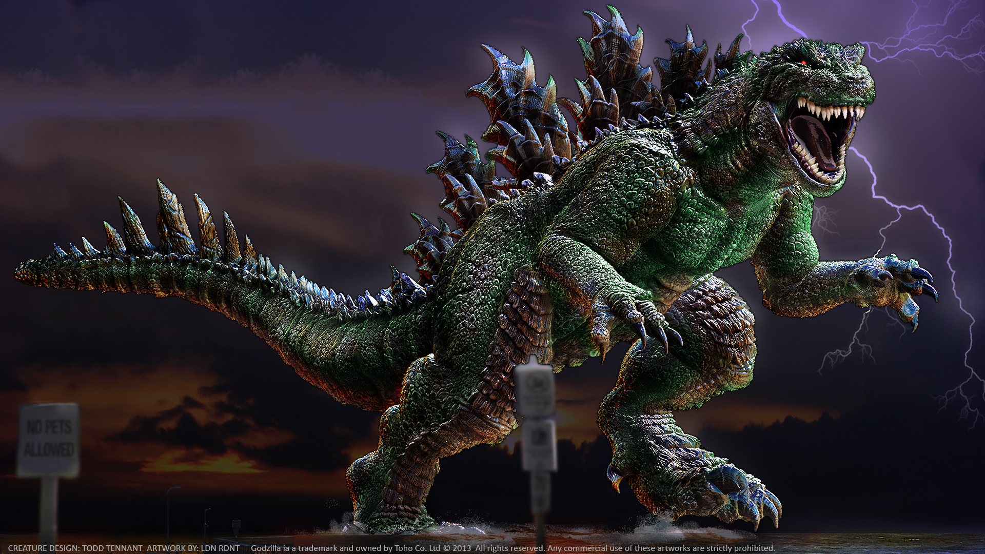 Godzilla 1920x1080 by MrOldman on DeviantArt