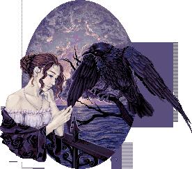Wisteria Kidas Stevenson _The_Raven__by_Aceldama