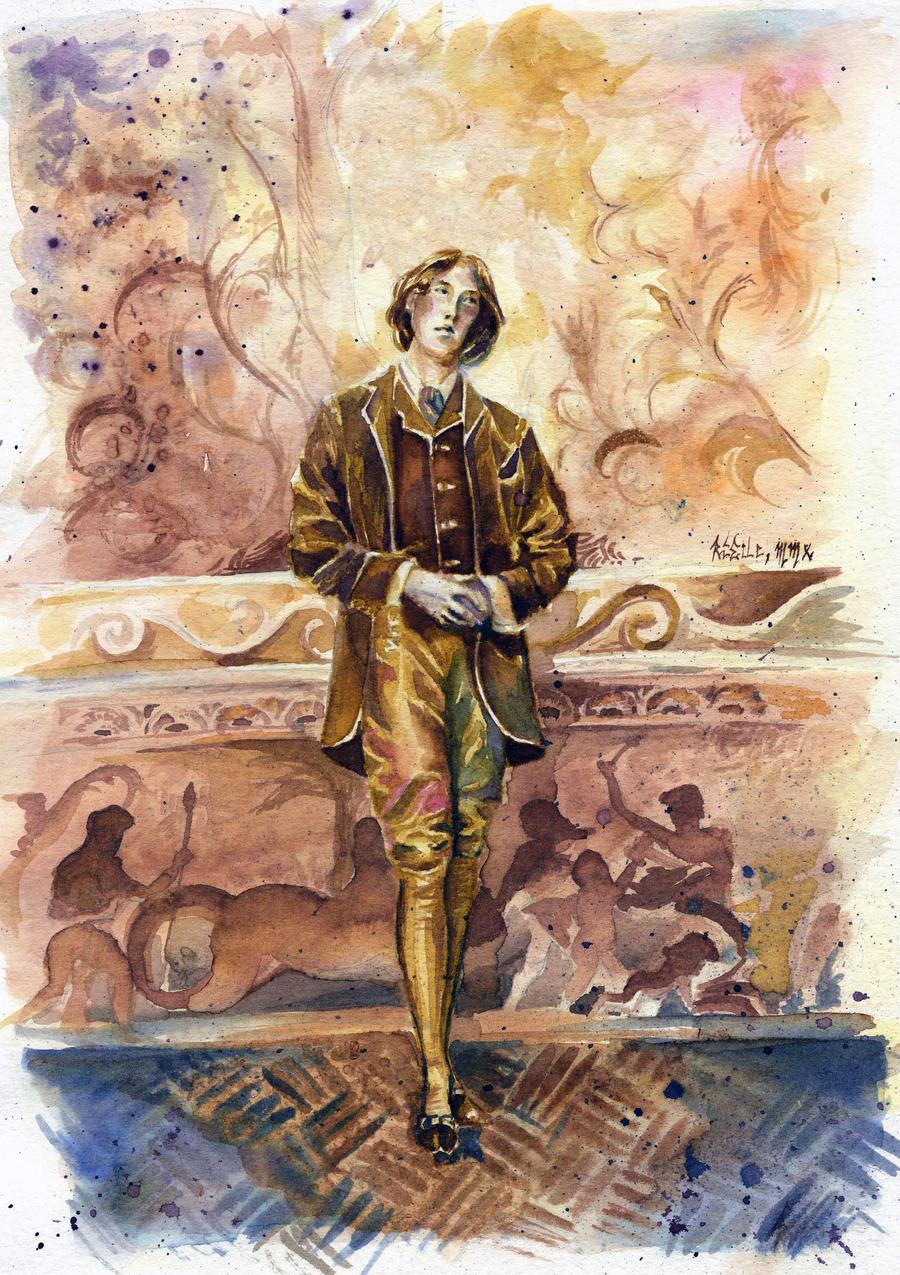 -Oscar Wilde- by RiEile