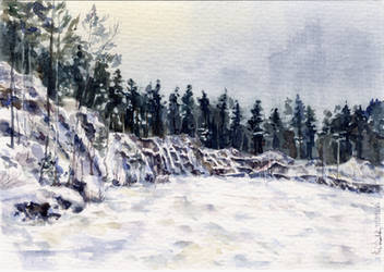 -Postcrossing: Graphic Ural- by RiEile